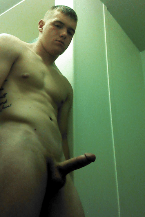 Stud With A Boner Taking Self Pics