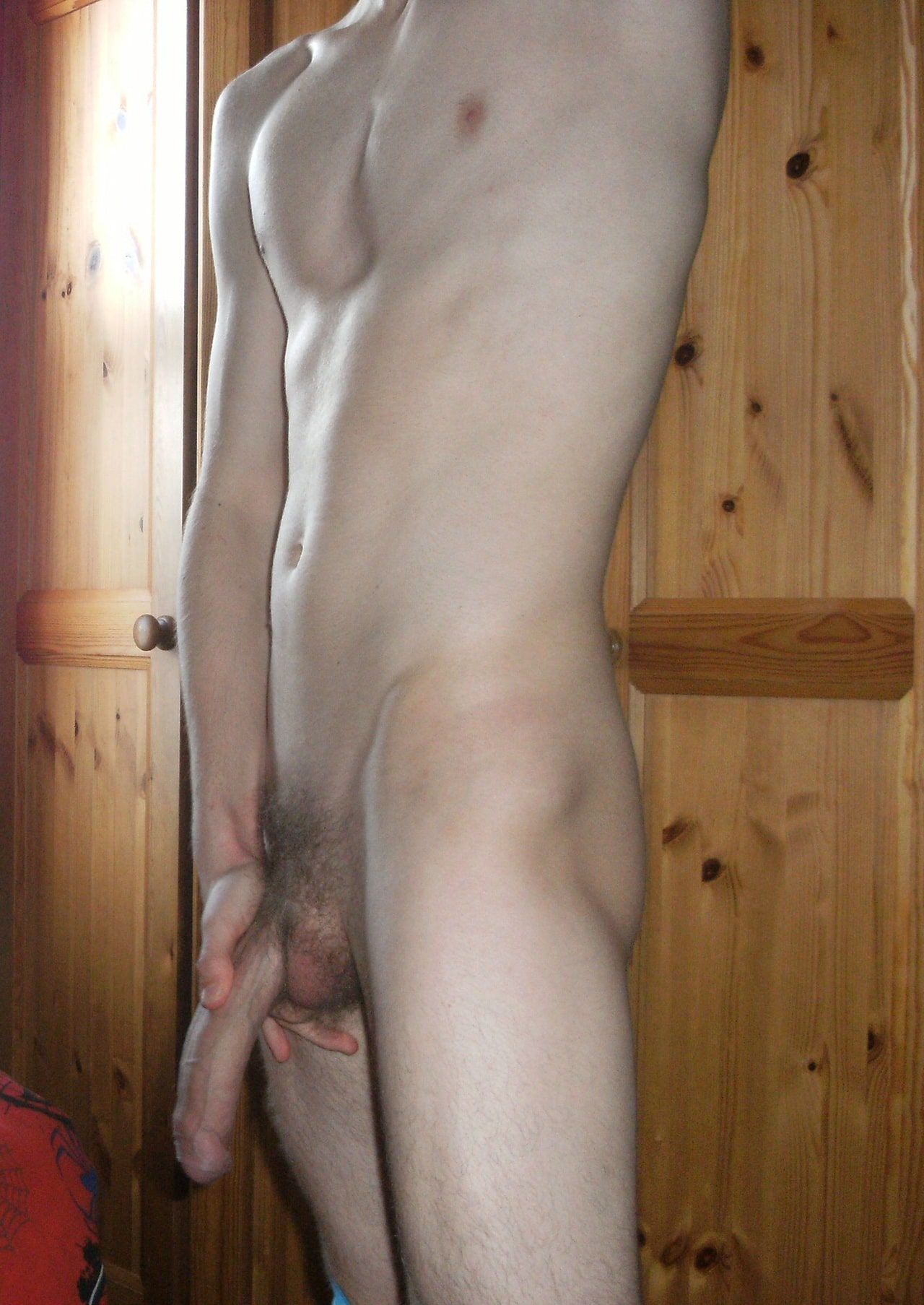 Slim Twink With A Nice Big Cock