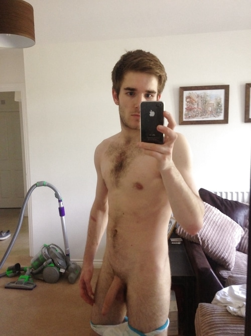 Guy With Cam Taking Pics Of His Cock